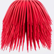 Red StarFoam Brush